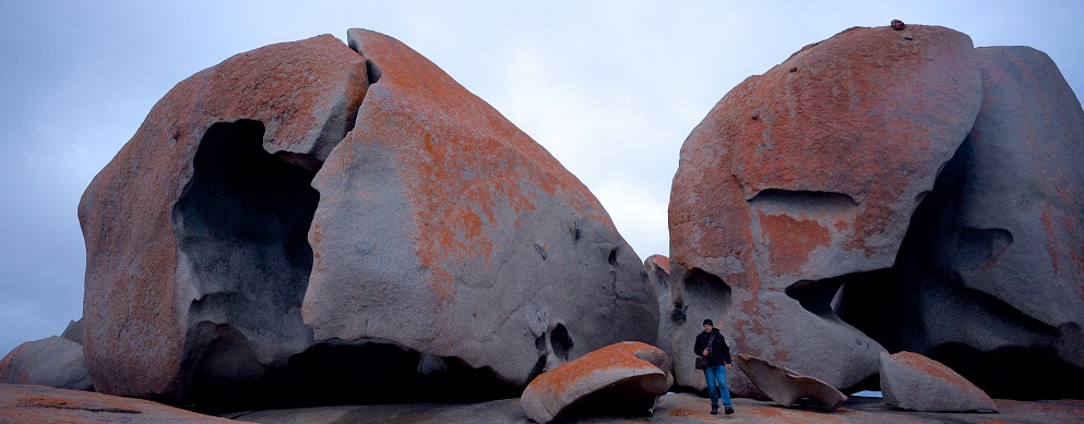 Visiting Remarkable Rocks on Kangaroo Island