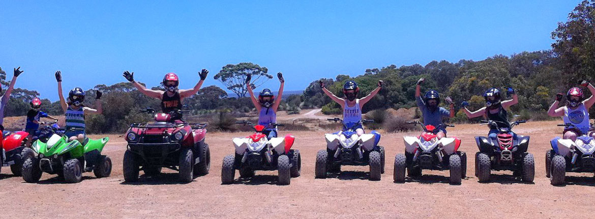 How to Quad bike at Kangaroo Island